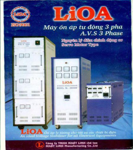 Giá trị sử dụng khi dùng ổn áp lioa DR3 20KVA 3 pha